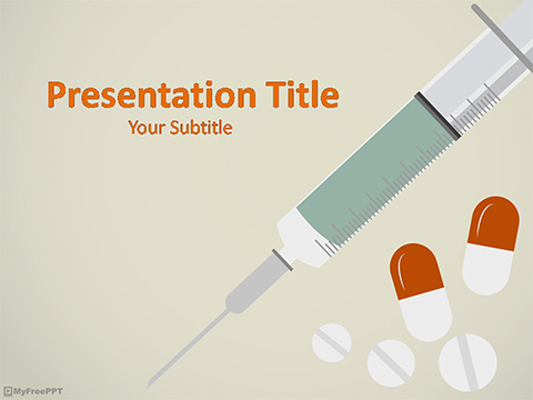 Free Vaccine Powerpoint Template Download Free Powerpoint Ppt