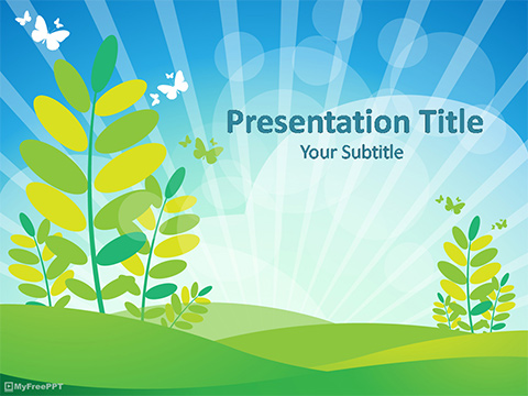 Free Morning PowerPoint Template