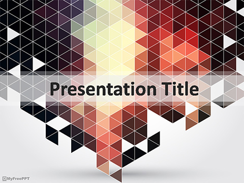 Mosaic Pattern PowerPoint Template