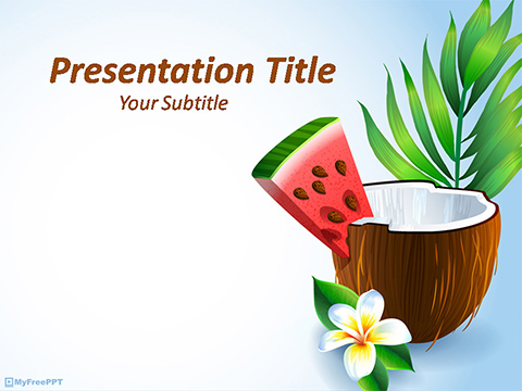 Organic PowerPoint Template