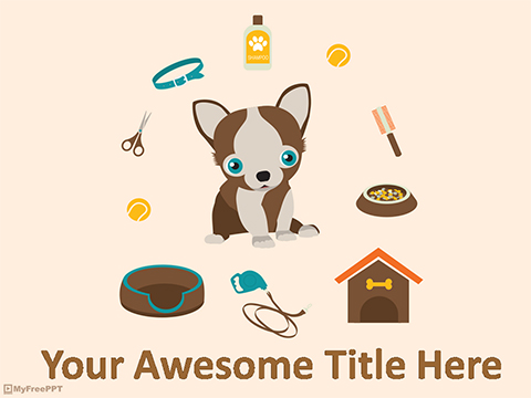 Pet Accessories PowerPoint Template