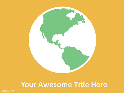 Planet PowerPoint Template