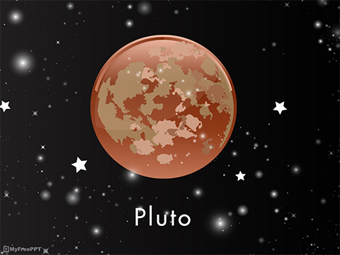 Pluto PowerPoint Template