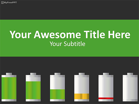 Power Consumption PowerPoint Template