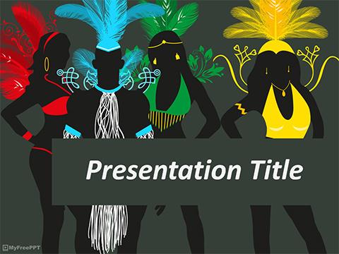 Free Fashion PowerPoint Templates - MyFreePPT com