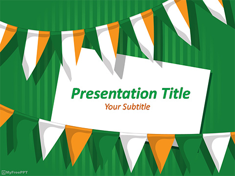 Free Indian Republic Day PowerPoint Template