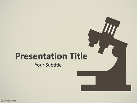 Free Research PowerPoint Template