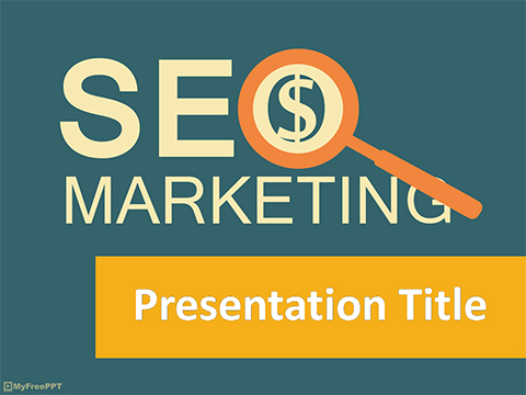 Free SEO PowerPoint Template