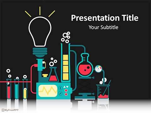 Free Science Laboratory PowerPoint Template