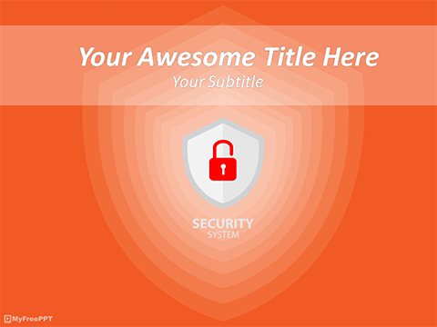 Security System PowerPoint Template