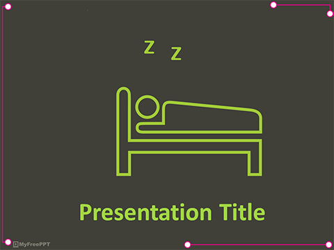 Free Sleep PowerPoint Template