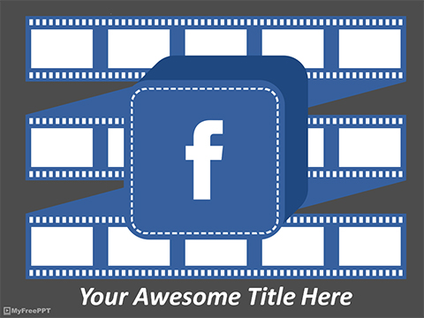 Free FaceBook PowerPoint Template