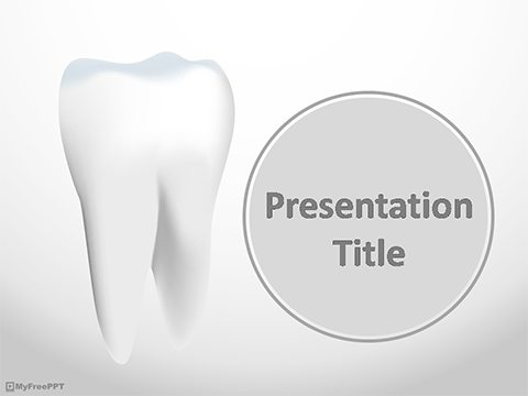 Strong Teeth PowerPoint Template