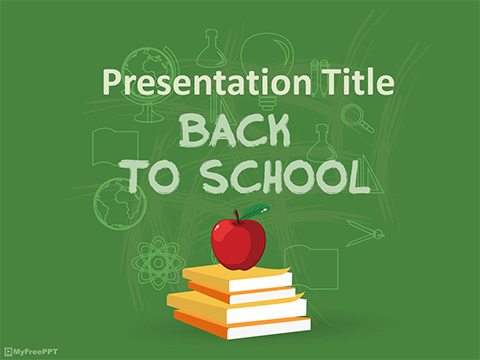 Free School Study PowerPoint Template