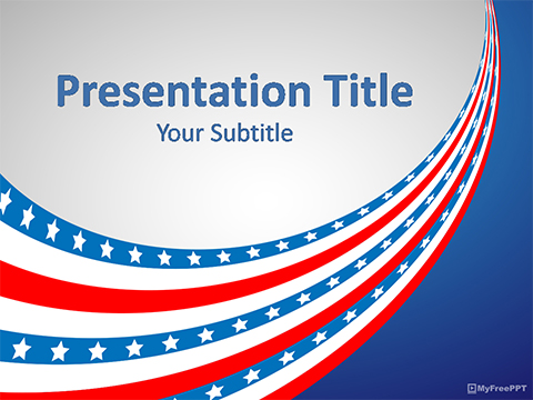US Occasion PowerPoint Template