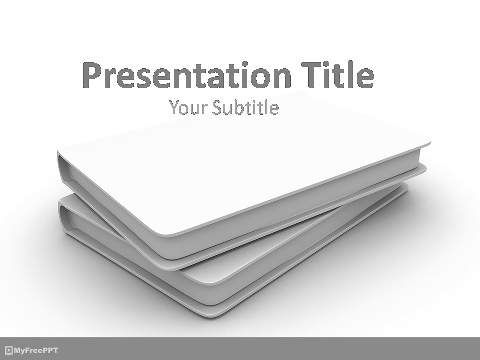 Free CD Cover Samples PowerPoint Template