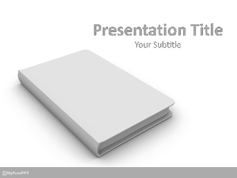 Free 3d Cover PowerPoint Template