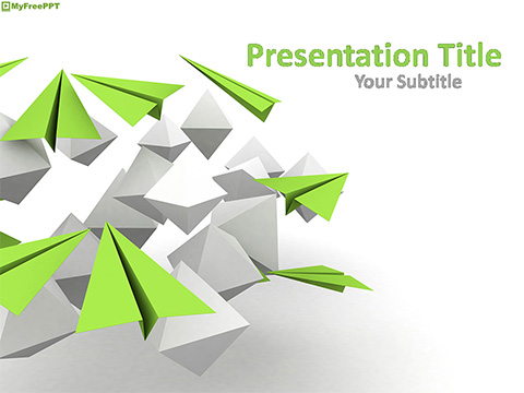 Free 3d Graphics PowerPoint Template