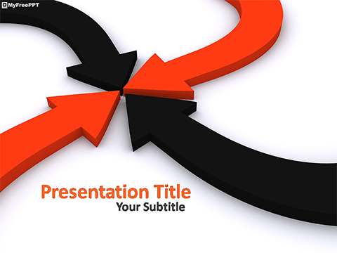 Free Aim Arrows PowerPoint Template