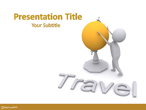 Analyzing Geography PowerPoint Template