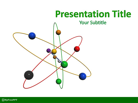 Atom Research PowerPoint Template