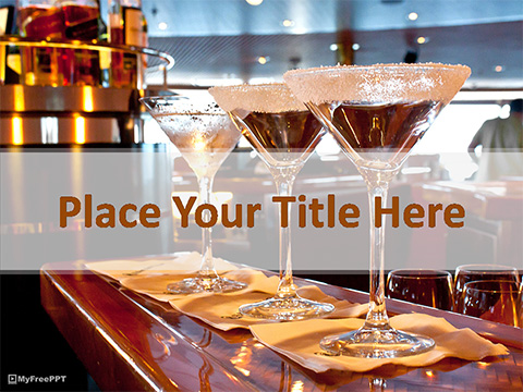 Bar PowerPoint Template
