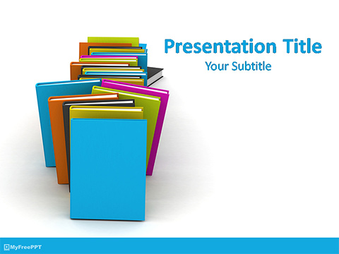 Free Book Shop PowerPoint Template
