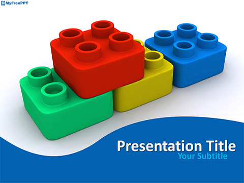 Building Blocks PowerPoint Template