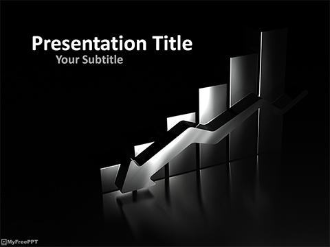 Free Business Graph PowerPoint Template
