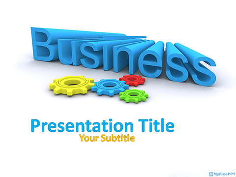 Free Business Management PowerPoint Template