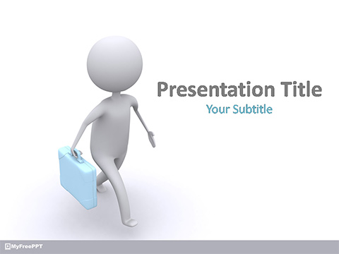 Businessman PowerPoint Template
