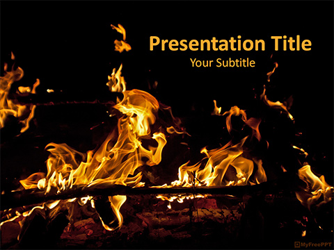 Campfire PowerPoint Template