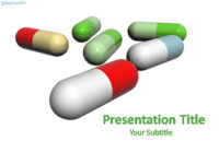 Free Capsules PowerPoint Template