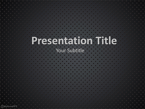 Carbon Dots PowerPoint Template