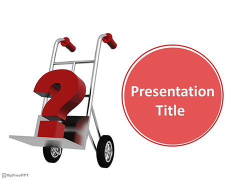 Carry Your Question PowerPoint Template