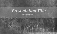 Free Cemented Surface PowerPoint Template