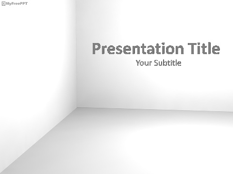 Free Corner PowerPoint Template