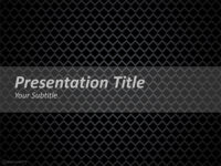 Free Dark Net PowerPoint Template
