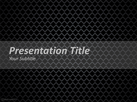 Dark Net PowerPoint Template