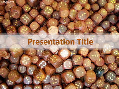Free Dices PowerPoint Template
