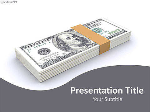 Free Dollars Bundle PowerPoint Template