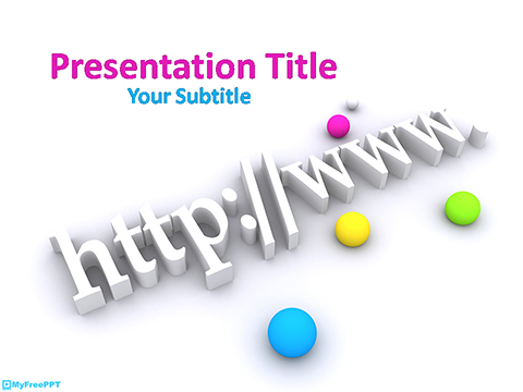 Free Domain PowerPoint Template