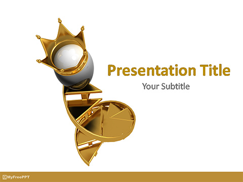 Easter King Egg PowerPoint Template