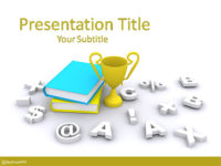 Free Educational Competition PowerPoint Template