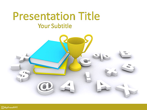 Educational Competition PowerPoint Template
