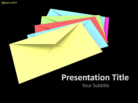 Envelopes PowerPoint Template