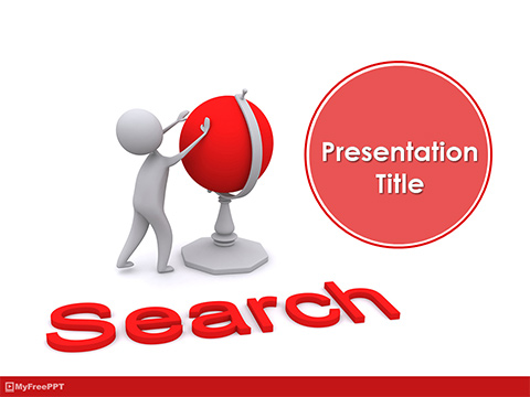 Global Search PowerPoint Template