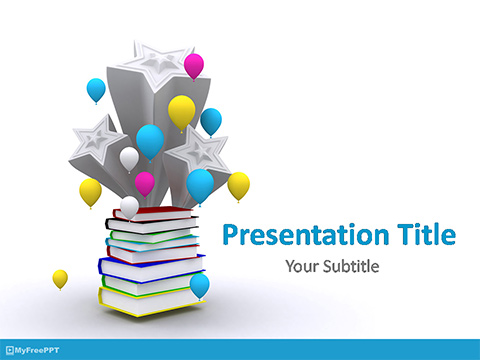 Free Graduation Celebration PowerPoint Template