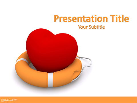 Heart Protection PowerPoint Template
