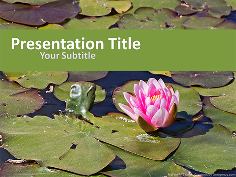 Lotus PowerPoint Template